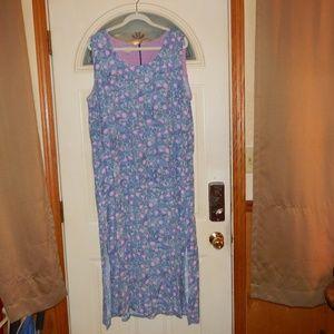 Sigrid Olsen Sport Floral Maxi Dress